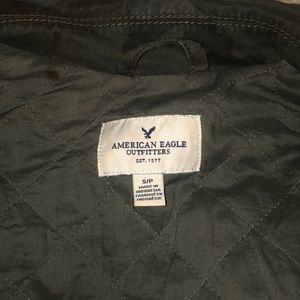 American eagle light weight army jacket!